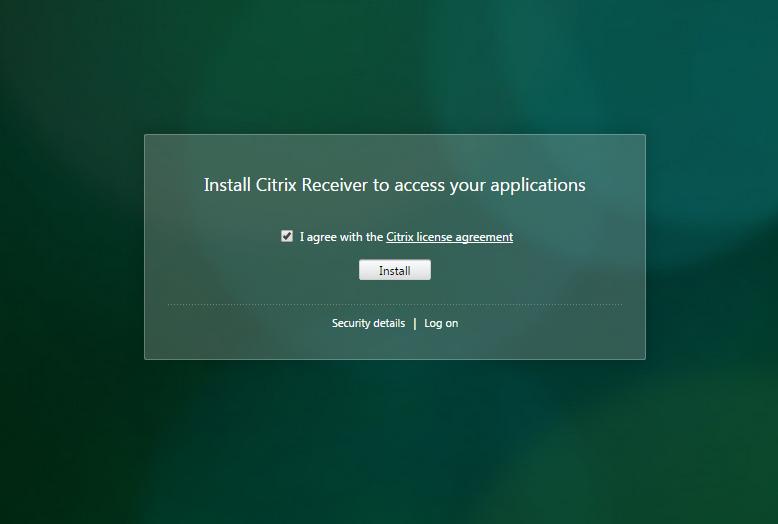 Install_Citrix