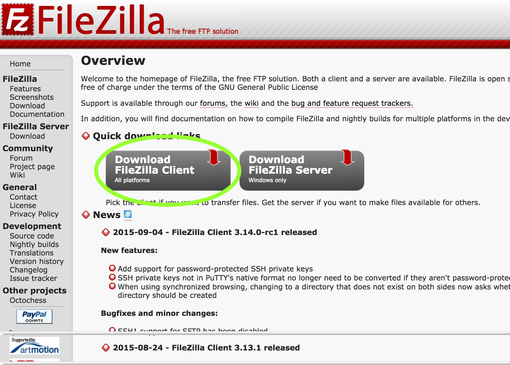Accessing HIE-storage with Filezilla – HIE-DM