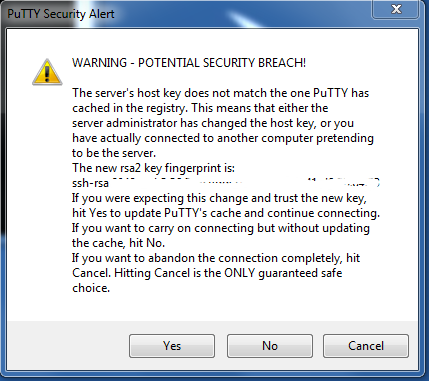 Putty_Warning_Screen